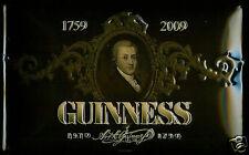 Guinness - Portrait of Arthur embossed steel sign 300mm x 200mm  (hi)  REDUCED