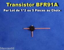 *** LOT AU CHOIX DE 1*2 OU 5 TRANSISTORS  NPN - BFR91A - NEUFS ***