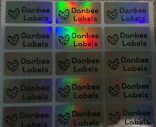 Medium Laser Personalised Name Stickers, Name Labels, 30x15mm, Waterproof