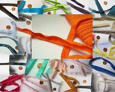 2m elastisches Falzgummi Bogenkante 22/11mm in 30 Farben!