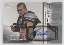2014 SAGE Autographed Football Silver #A54 Jordan Zumwalt UCLA Bruins Auto Card