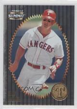 1996 Pinnacle Summit Foil #144 Dean Palmer Texas Rangers Baseball Card