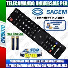 TELECOMANDO UNIVERSALE SAGEM. CLICCA IL TUO MODELLO LO RICEVERAI GIA PRONTO