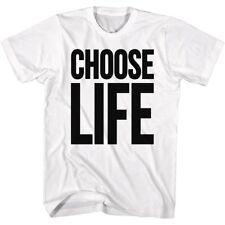 Wham Tall T-Shirt Choose Life White Tee