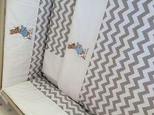 Beautiful peter rabbit  crib cot cotbed bumper set