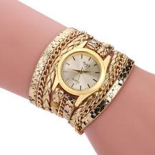 Women's Wrapped Bracelet Table Woven Snake Quartz Watch