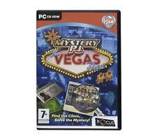 Mystery P.I. Vegas (PC CD), Very Good Windows 2000, PC, Windows Vista, Video Gam