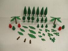 (E 11) Lego Arbres Palmiers Buisson Haie Feuilles pour Ville, Forêt Chevalier