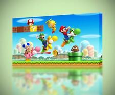 Super Mario Odyssey CANVAS PRINT Home Wall Decor Giclee Art Poster Kids CA1009
