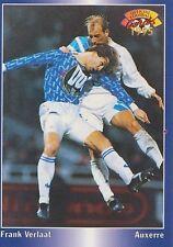 N°020 VERLAAT NETHERLANDS AJ.AUXERRE CARTE PANINI FOOTBALL 95 FRANCE CARDS 1995