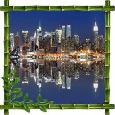 Sticker autocollant Cadre bambou New York7119