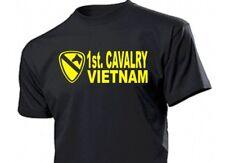 1st Cavalry Vietnam T-Shirt Gr S-XXL US Army WK2 WWII USMC Marines Platoon Navy