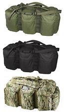 Combat Army Tactical Bag Holdall Travel Shoulder Kit Bag Rucksack Green Black