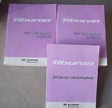 2007 HYUNDAI TIBURON Service Repair Shop Workshop Manual SET FACTORY W EWD NEW