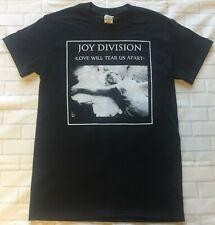 Love Will Tear Us Apart Men/'s Black T-Shirt US Import Joy Division