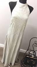 True Decadence Petite Embellished Halter Maxi Dress ASOS RP £99 (AS-7/5)