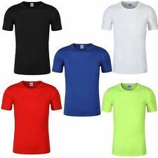 Herren Laufshirt Funktions Shirt Laufen Sport Fitness Marathon Shirt kurzarm