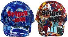 Spiderman Bonnet pour Enfants Multicolore et Bleu Casquette Baseball Cappy