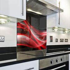 Splashback Paraschizzi Paraspruzzi Rivestimento Cucina vector astratto rosso