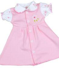 BabyPrem Premature Baby Clothes Girls Pink Vintage Print Dress Dresses 1.5-7.5lb