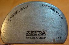 ZEBRA Ram Golf Club PUTTER Face Balanced Camber Sole Mens Right Handheld