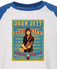 JOAN JETT new T SHIRT rock  All sizes S M L XL raglan