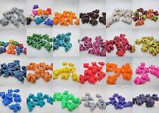 10 - Novelty 25mm Elephant Pony Beads - Color Choice