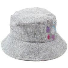 femmes gris chapeau bob Hawkins CASQUETTE FLEUR SOLEIL femmes Cloche