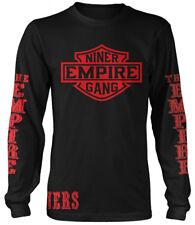 Niner Empire Gang Long Sleeve T-Shirt Black & Red (New) San Francisco Edition