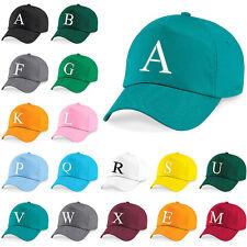 Baseball Cap Kids Letter Hat Girls Boys Childrens Kids Summer Emerald Green