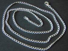 Modeschmuck Kette Silber Blei-und Nickelfrei Länge wählbar Top  Neu