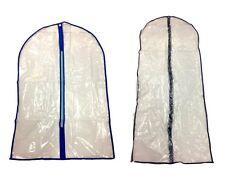 8x Suit Dress Clothing Cover Bag w Nylon Zip Wardrobe Storage Coat Protector
