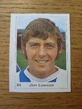 1971/1972 Marshall cavenish Cut-out/etiqueta: Huddersfield Town-Ley de James (Jim)
