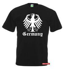 GERMANY MIT BUNDESADLER | Fun T-Shirt | Deutschland Adler          552-0-