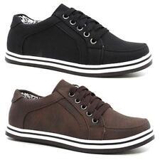 Nuevos Zapatos De Escuela Niños Niñas Casual bombas entrenadores de regreso a la Escuela PE tamaño de zapato