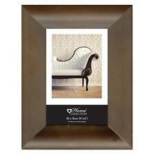 Contemporaine Moderne Marron Cadre Photo Image 6x4 5x7 8x6 10x8 A4 Certificat