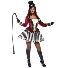 Womens Night Ringmaster Circus Costume