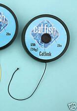 Pesce gatto PRO catlink KEVLAR 70lb Hooklink materiale 10m