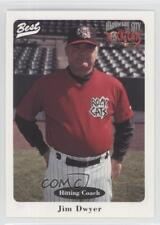 1996 Best Hardware City Rock Cats #3 Jim Dwyer New Britain Baseball Card