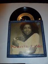"NATALIE COLE - The Christmas Song - 1988 UK 7"" Vinyl Single"