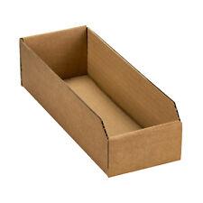 Regalkarton Lagerbox Sichtbox Lagerkarton Aufbewahrungsbox Pappe 290x105x74mm