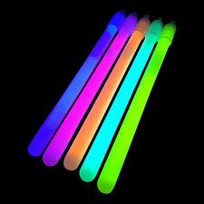"""100f 6 """"pulgadas regular (10mm) Glow Sticks + acolladores-glowtopia para todas las ocasiones"""