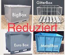 Palettenbox Eurobox Exportkiste BigBox Gitterbox Metallbox Boxpalette Palletbox