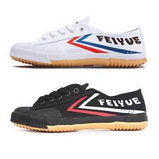 Top One Feiyue White Black Canvas Running Kung Fu Taichi Tai Ji Shoes Vintage