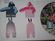 Playshoes REGENANZUG Matschanzug warm gefüttert Set Hose und Jacke