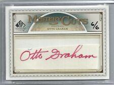 2008 SP Legendary Cuts - OTTO GRAHAM - Mystery Cut Autograph - #d6/6 - BROWNS