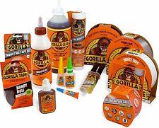 Gorilla Glue Full Range: Standard, Super Glue, Epoxy, Grab Adhesive, Wood Glue