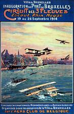 Aviation Vintage Decoration & Design Poster.Belgique CLUB.Art Decor 1046i