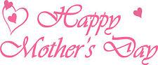 Mothersday parole-VINILE RETAIL Vetrina Visualizzazione / Adesivo M2