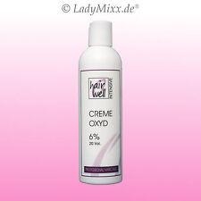 6% Creme Oxyd 250ml  H2O2 Wasserstoffperoxid Oxydant Hairwell INTENSIVE EURODOR